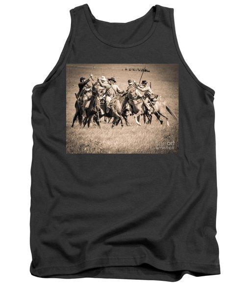 Gettysburg Cavalry Battle 7948s  Tank Top