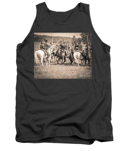 Gettysburg Cavalry Battle 7970s  Tank Top