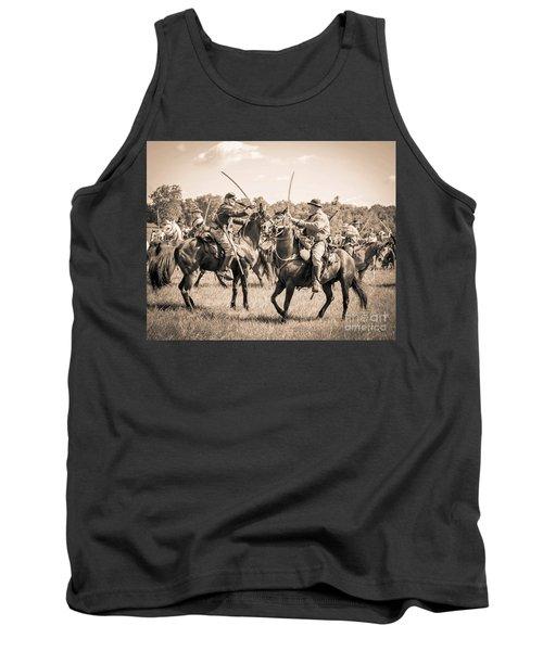 Gettysburg Cavalry Battle 7978s  Tank Top