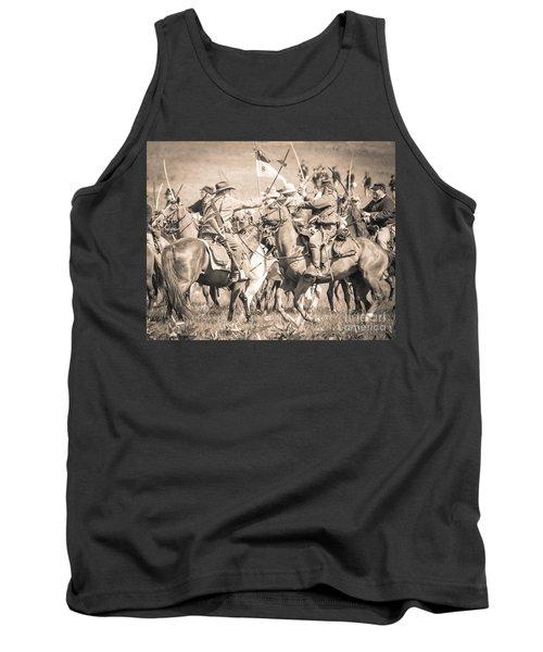Gettysburg Cavalry Battle 8021s  Tank Top