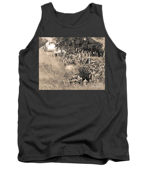 Gettysburg Confederate Infantry 8825s Tank Top