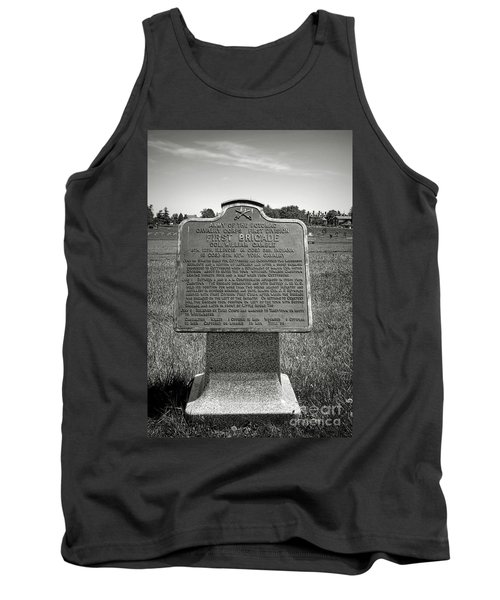 Gettysburg National Park Army Of The Potomac First Brigade Monument Tank Top