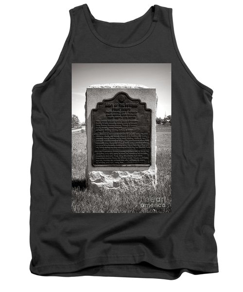 Gettysburg National Park Army Of The Potomac Third Division Monument Tank Top