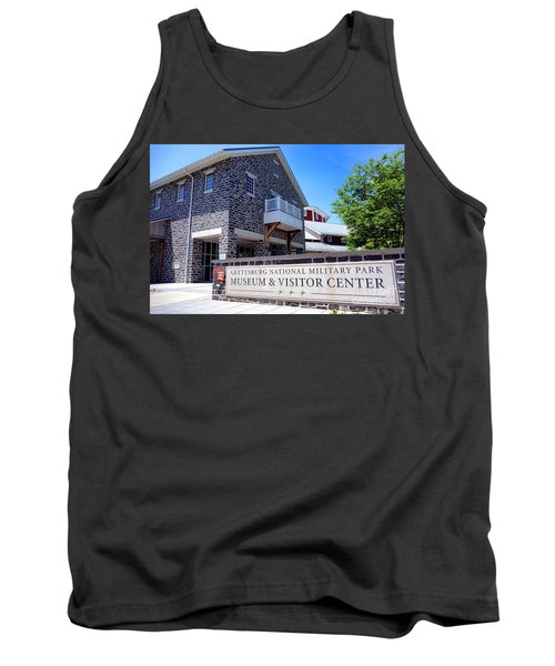 Gettysburg National Park Museum And Visitor Center Tank Top