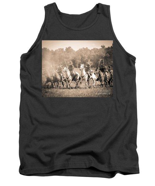 Gettysburg  Union Cavalry 7901s  Tank Top
