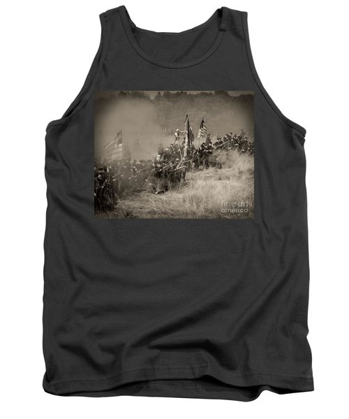 Gettysburg Union Infantry 8947s Tank Top