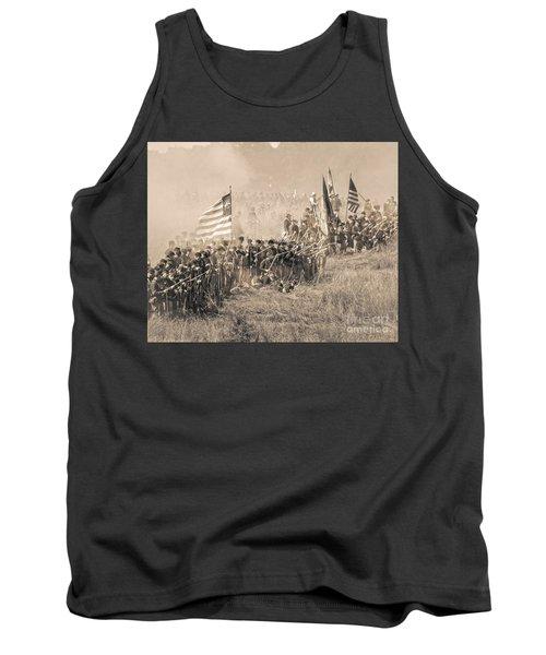 Gettysburg Union Infantry 8948s Tank Top