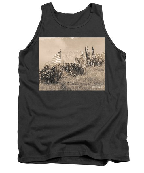 Gettysburg Union Infantry 8948s Tank Top