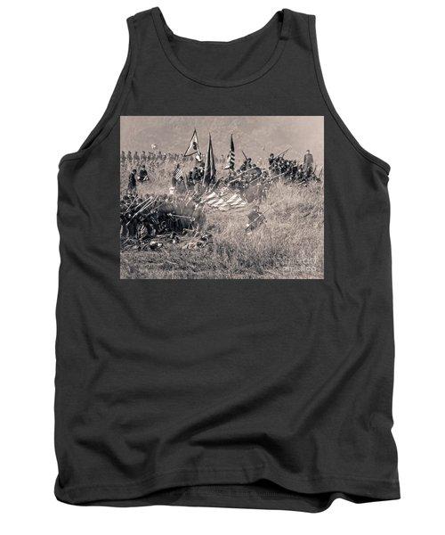 Gettysburg Union Infantry 8963s Tank Top