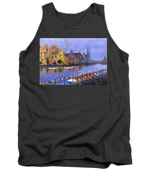 Tank Top featuring the painting Ghent by Jamie Frier