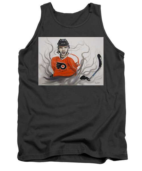 Ghost Bear Tank Top by Kevin F Heuman