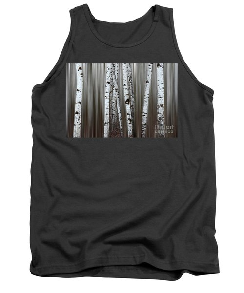 Ghost Forest 1 Tank Top by Bob Christopher