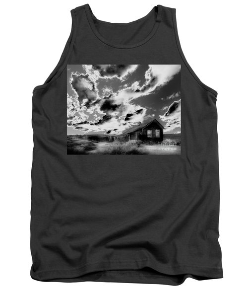 Tank Top featuring the photograph Ghost House by Jim and Emily Bush