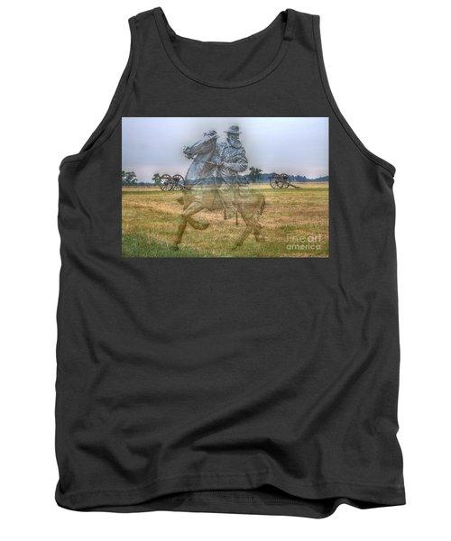 Ghost Of Gettysburg Tank Top by Randy Steele