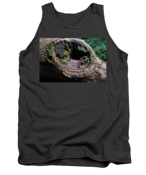 Tank Top featuring the photograph Giant Knot In Tree by Scott Lyons