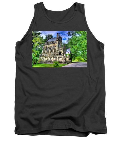 Giant Spring Grove Mausoleum Tank Top by Jonny D