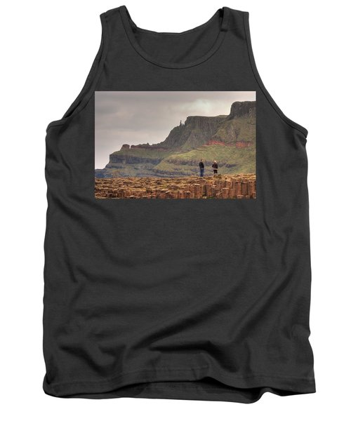 Tank Top featuring the photograph Giants Causeway by Ian Middleton