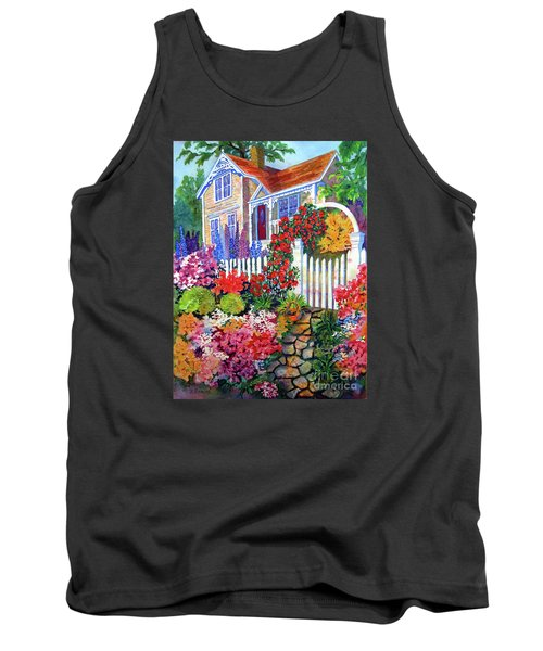 Gingerbread In Bloom Tank Top