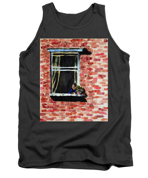 Girl At Window Tank Top