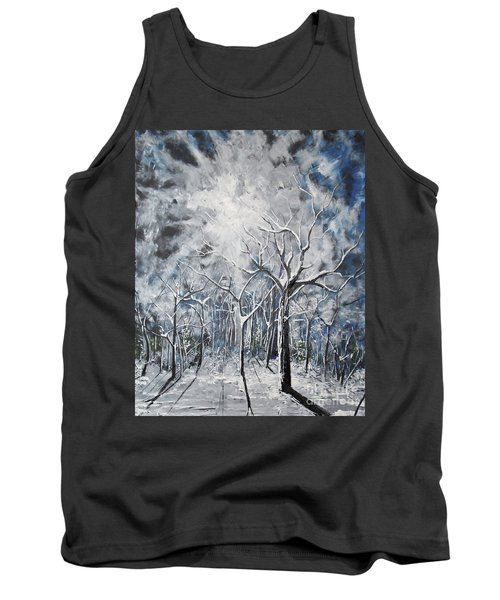 Girl In The Woods Tank Top