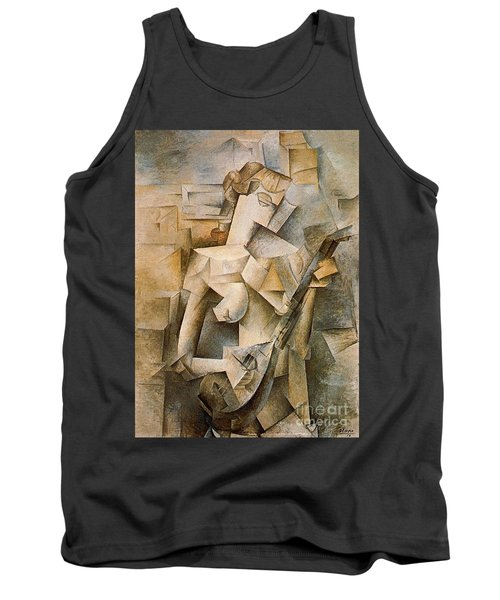 Girl With A Mandolin Tank Top by Picasso