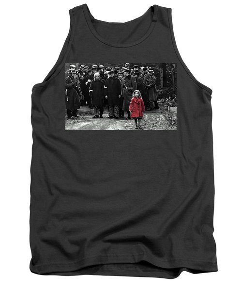 Girl With Red Coat Publicity Photo Schindlers List 1993 Tank Top