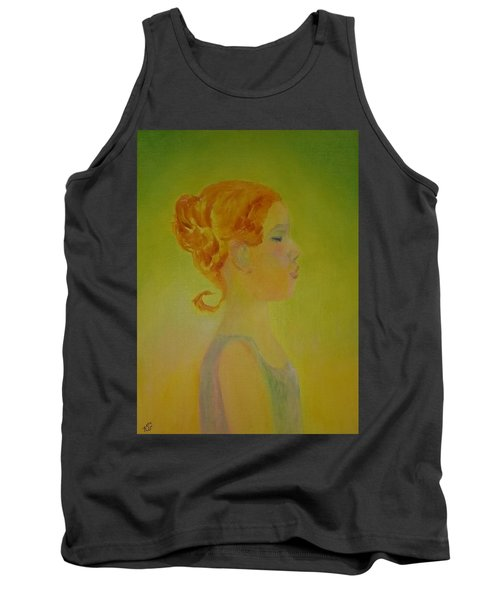 The Girl With The Curl Tank Top