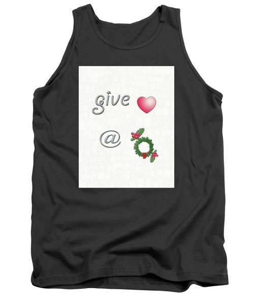 Give Love At Christmas Tank Top