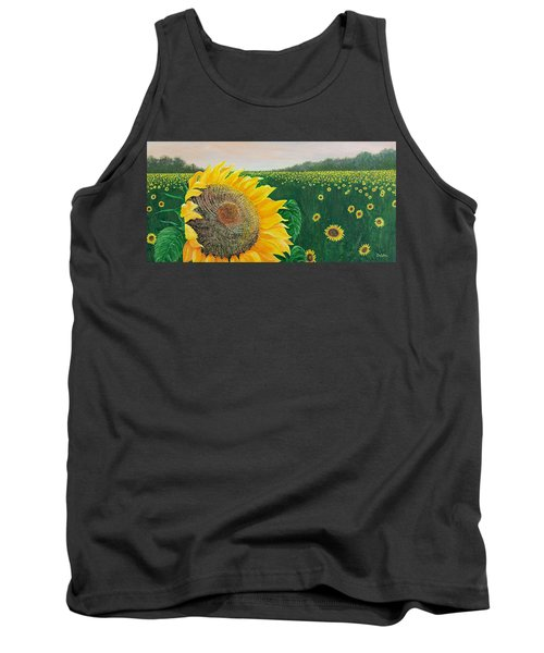Tank Top featuring the painting Giver Of Life by Susan DeLain