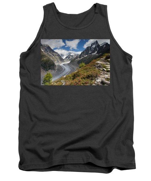 Glacier De La Mer De Glace Tank Top