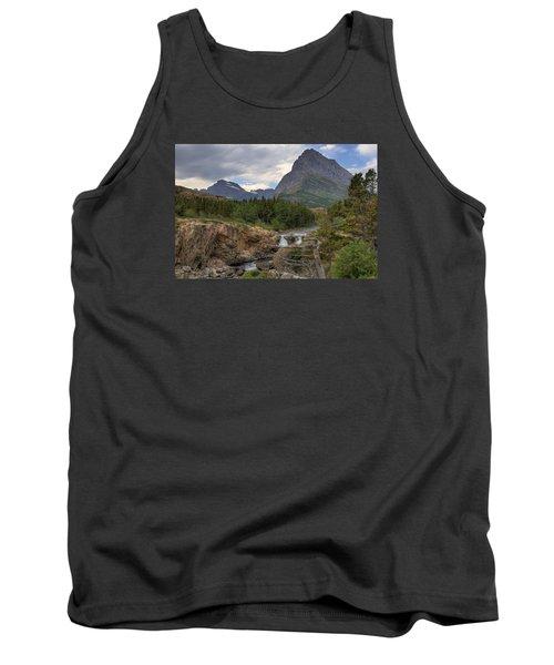 Glacier National Park Landscape Tank Top