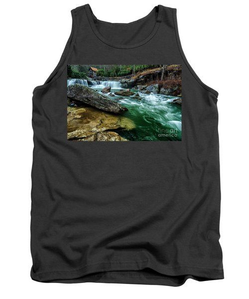Glade Creek And Grist Mill Tank Top