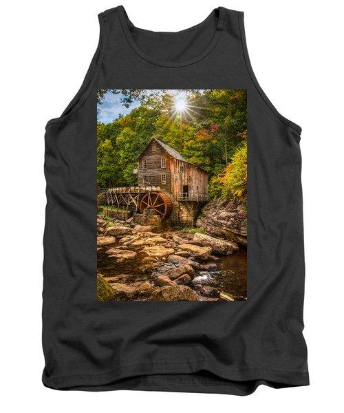 Glade Creek Mill Fall Tank Top by Rebecca Hiatt