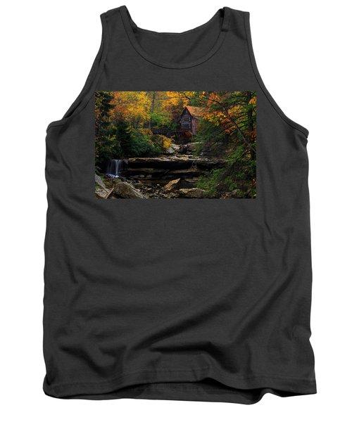 Glades Creek Grist Mill West Virginia Tank Top