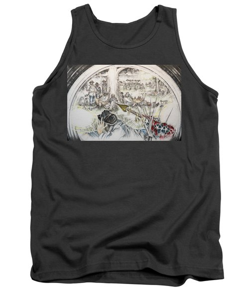 Glass Aftermath Tank Top by Scott and Dixie Wiley