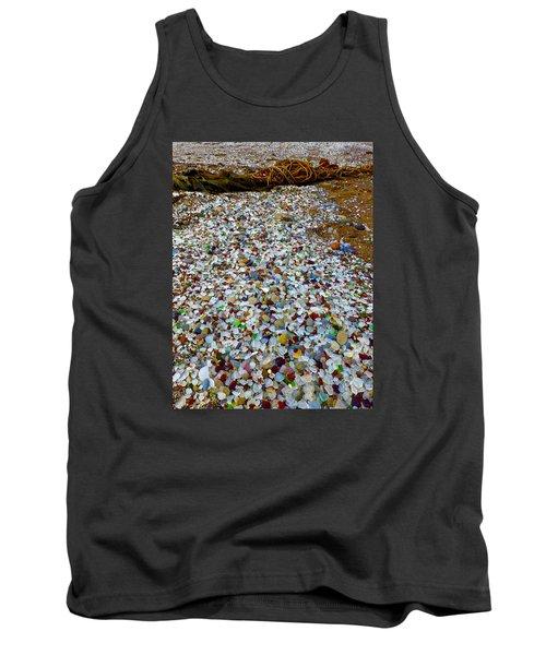 Glass Beach Tank Top by Amelia Racca
