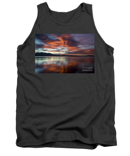 Tank Top featuring the photograph Glassy Tahoe by Mitch Shindelbower