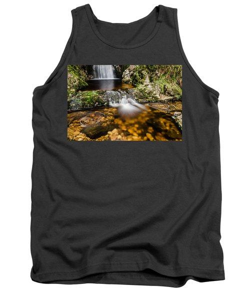 Glenevin Waterfall Clonmany Tank Top by Martina Fagan