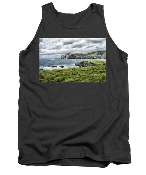 Tank Top featuring the photograph Glencolmcille by Alan Toepfer