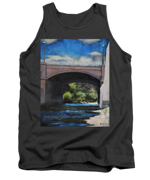 Glendale Bridge Tank Top by Richard Willson