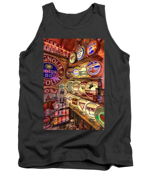 Globes Of The Past Tank Top