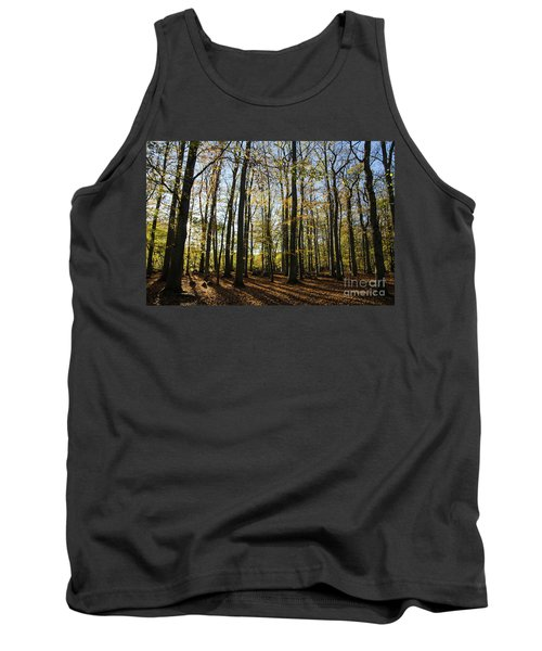 Tank Top featuring the photograph Glorious Forest by Kennerth and Birgitta Kullman