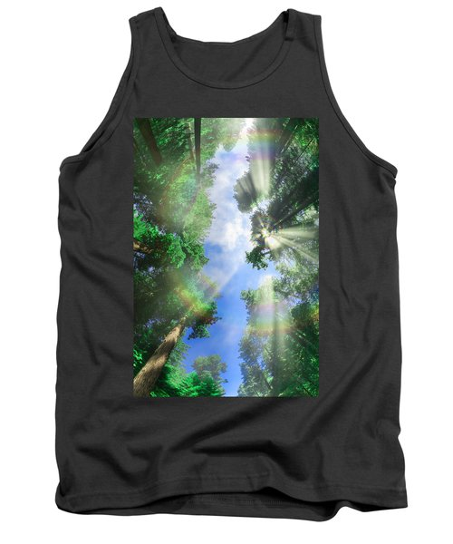 Glory Amongst Redwoods Tank Top