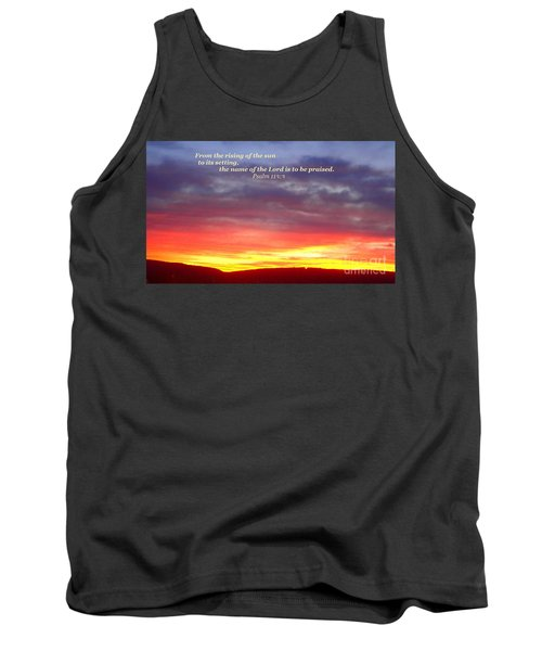 Glory And Praise  Tank Top