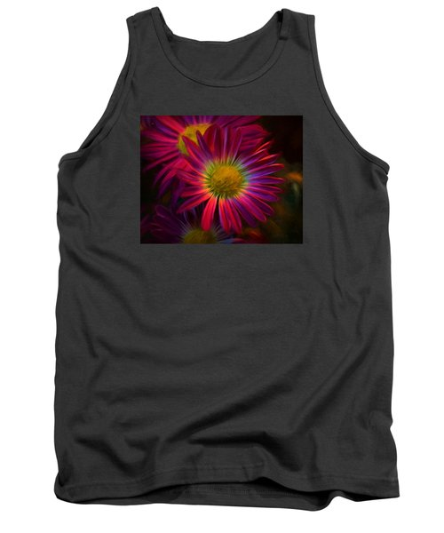 Glowing Eye Of Flower Tank Top