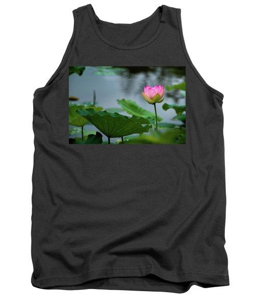 Glowing Lotus Lily Tank Top