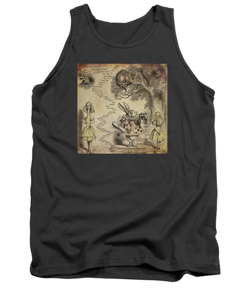 Go Ask Alice Tank Top by Diana Boyd