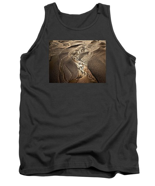 Tank Top featuring the photograph Go With The Flow by Laura Ragland