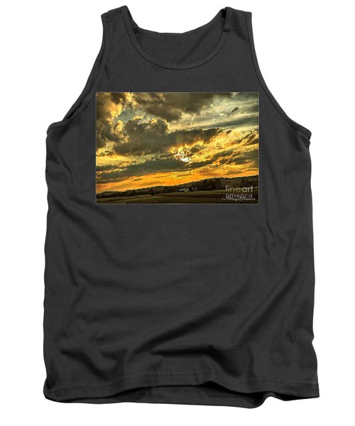 God Hand Tank Top by MaryLee Parker