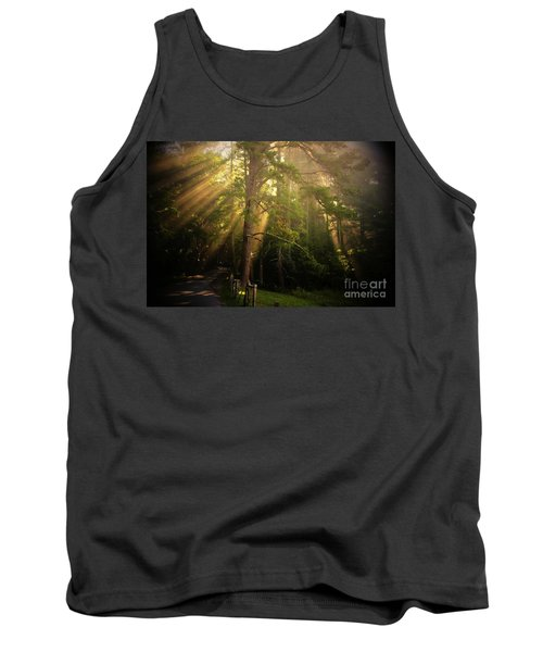God's Light 2 Tank Top by Geraldine DeBoer